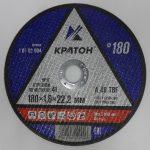 Круг отрезной 180*1,8*22,2 А24TBF (Кратон)