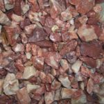 мраморная крошка красно-коричневая 10-20мм