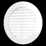 16РКСРешетка вентиляционная круглая с пластиковой сеткой D200 вытяжнаяАБС с фланцем D160 в ставрополе