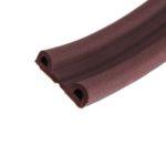Уплотнитель самоклеящийся ZOOM Classic P-профиль коричневый, 100м/6шт в ставрополе