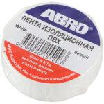 ABRO Изолента ЕТ912 белая 10мл в ставрополе