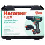 Аккум.дрель Hammer Flex ACD140Li 14.4Вт 2-1,5Ач 10мм 350-1200об/мин 31Нм быстр.зарядка 583432 в ставрополе