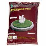 Газон Зеленый квадрат 1кг. декоративный GREEN FINGERS в ставрополе