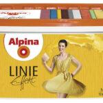 Краска ВД Alpina Antique Linie кремообр.мелкозерн. для интерьеров 5л в ставрополе