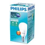 Лампа светодиод. 6.5Вт шар Е14 4000К ESS Fhilips в ставрополе