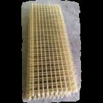 Сетка стеклокомпозитная кладочная D-2.0мм (Кладочная, клетка 50х50,Габариты 0,25х2м)цв. Натуральный в ставрополе